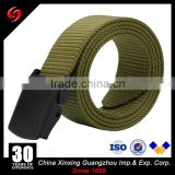 polyester ribbon tactical plastic buckle lightweight high strength ourdoor military polcie belt