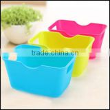 Mini Wholesale Candy Color 3 piece plastic storage box for home decoration/custom plastic stroage box/plastic storage box