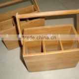 Best selling bamboo Chopsticks holder/bamboo wood Storage Box