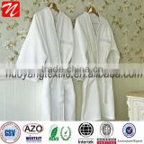 Wholesale microfiber fabric hotel bathrobe for adults /hotel bathrobes/western bathrobe from China Jiaxing
