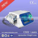 650nm diode laser ultra lipolysis lipo slimming machine CS02