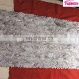 factory direct wholesale price mink back leg fur splicing fur plate for garment and blanket