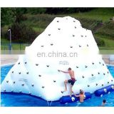 inflatable iceberg water game, air mountain inflatable