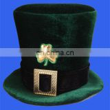 adult irish top hat cheap irish felt hat Creative Converting St. Patrick's Day Felt Top Hat with Buckle