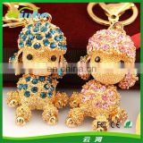 The soldiers Dog Rhinestone Keychain
