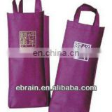 New design non woven wine bag,New design shopping bag with button,