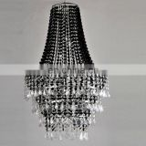 Acrylic Beaded Chandelier Centerpiece