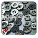 Black mother of pearl shell button,china button factory,new design products