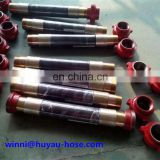 Rotary Drilling Hose/ Vibrator Drilling Hose for cement / oil resistant drilling rig hose
