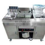 Adopting food grade SUS 304 material chicken fried machine chicken wings frying machine deeo fryer with high efficiency