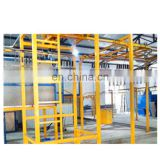 Automatic powder coating booth for aluminium profiles 1.6