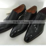 2016 new classy leather pu best men business casual dress shoes