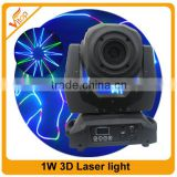 China Wholesale Led Laser Projector 1w 3d Laser Lighting