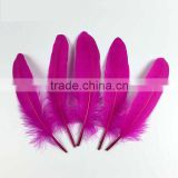 wholesale feathers craft supply colored goose feather for sale trim