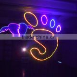 For Stage/Dj/Disco/Club RGB color animation sound system laser light