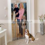 Self-adjusting Wooden Baby Safety Gate, pet barrier, child safety gate