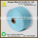 Ring spun cotton polyester belended blanket cotton yarn dyed for knitting