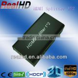 1x2 HDMI amplifier Splitter to coaxial 3D-Support