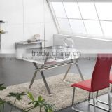 New Stainless Steel Dining Table Designs Modern Home Dining Furniture(SZ-DT103C)