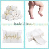 Bamboo washcloths wipes organic soft baby bath towels absorbent dribble bibs skin care                                                                         Quality Choice