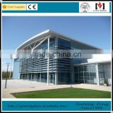 One-stop solution aluminum composite panel curtain wall building with all accessories DS-LP1056