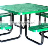 Picnic Table, Expanded, Square, 46inch, Blue, Green etc.