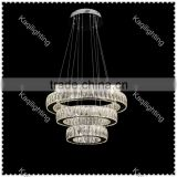 Modern LED K9 Crystal Ring Chandelier Pendant Light Ceiling Lighting                                                                         Quality Choice