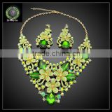 2016 New Arrival African Gold Plated Jewelry set which for Wedding jewelry set Match Clothes KHK875