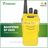 factory sell cheap Ham Radio bf-888s military Two Way Radio for Baofeng 5W colorful Single Band Radio uhf Walkie Talkie