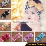 >>>NEW arrival elastic Kids lovely Flower Headband/fancy Baby bow Hairbands/                                                                         Quality Choice