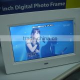 2015 AIYOS Biggest Promotion Small Advertising Lcd Digital Photo Frame Hot Video Player 7 inch