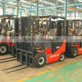China top 3 ton electric forklift truck YTO CPD30 electric fork lift price for sale