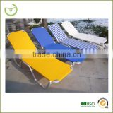 Hot sales metal folding beach sun lounger chair,portable cheap pool beach chair folding beach lounger chair