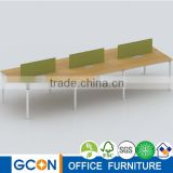 Wholesale office cubicles workstation desk with partition wall OEM China furniture factory