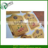 High quality adhesive canning jar labels, oil resistant labels, removable oil bottle paper stickers