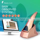 Health care beauty equipment skin analysis software in English