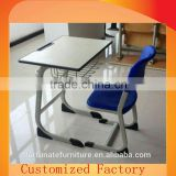 adult strong plastic school desk and chair