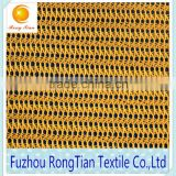 Wholesale 100 polyester yellow stiff knitted mesh fabric for hats accessories                                                                         Quality Choice