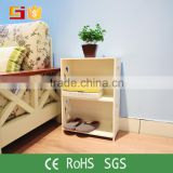 Wood plastic surface small size bookcase with nice quality