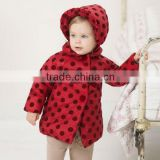 DB436 dave bella winter infant coat baby wadded jacket padded jacket outwear winter coat jacket
