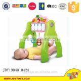 High quality baby toys baby gym with piano keyboard 2pcs bell