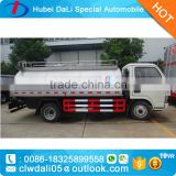 stainless steel milk transport vehicle driking water tank truck for sale                                                                                                         Supplier's Choice