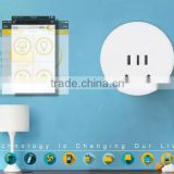 220V 10A wifi power socket for smart home automation system with wifi socket plug EU US AU UK type