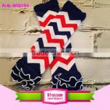 wholesale baby legwarmer , chevron newborn baby leg warmers,zigzag cotton legwarmer with ruffle