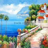 Wholesale High Quality Modern Canvas Handmade Beautiful Provence Landscape Oil Painting for Home Decoration