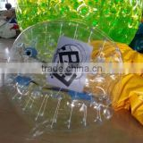 HI Top quality PVC/TPU soccer bubble ball human inflatable bumper ball
