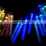 led christmas wedding party holiday indoor outdoor solar battery PILLAR 20LEDS string lights
