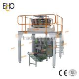 Automatic Vertical Form Fill Seal Packaging Machine for Granule with 4 Sides Sealing Bag
