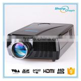 Wholesale Hot Selling 4K Short Throw 3D Holographic Display Projector 1080P LED Projetor with rich interfaces