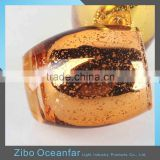 Eco-friendly Gold Tealight Candle Holder Mercury Glass Votive Holder